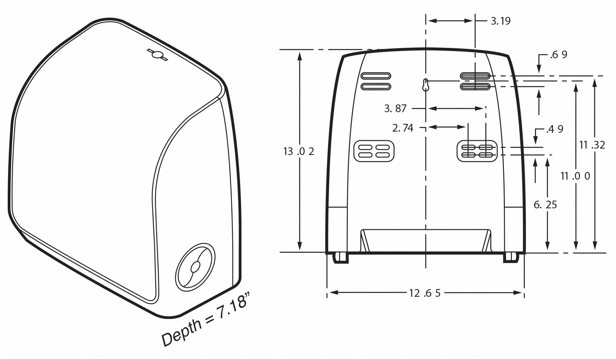 KIMBERLY-CLARK PROFESSIONAL Paper Towel Dispenser, Scott