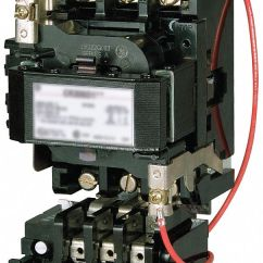 Wiring Diagram Of Magnetic Contactor Float Switch Ge Motor Starter, 120vac Coil Volts, Nema Size: 4 ...