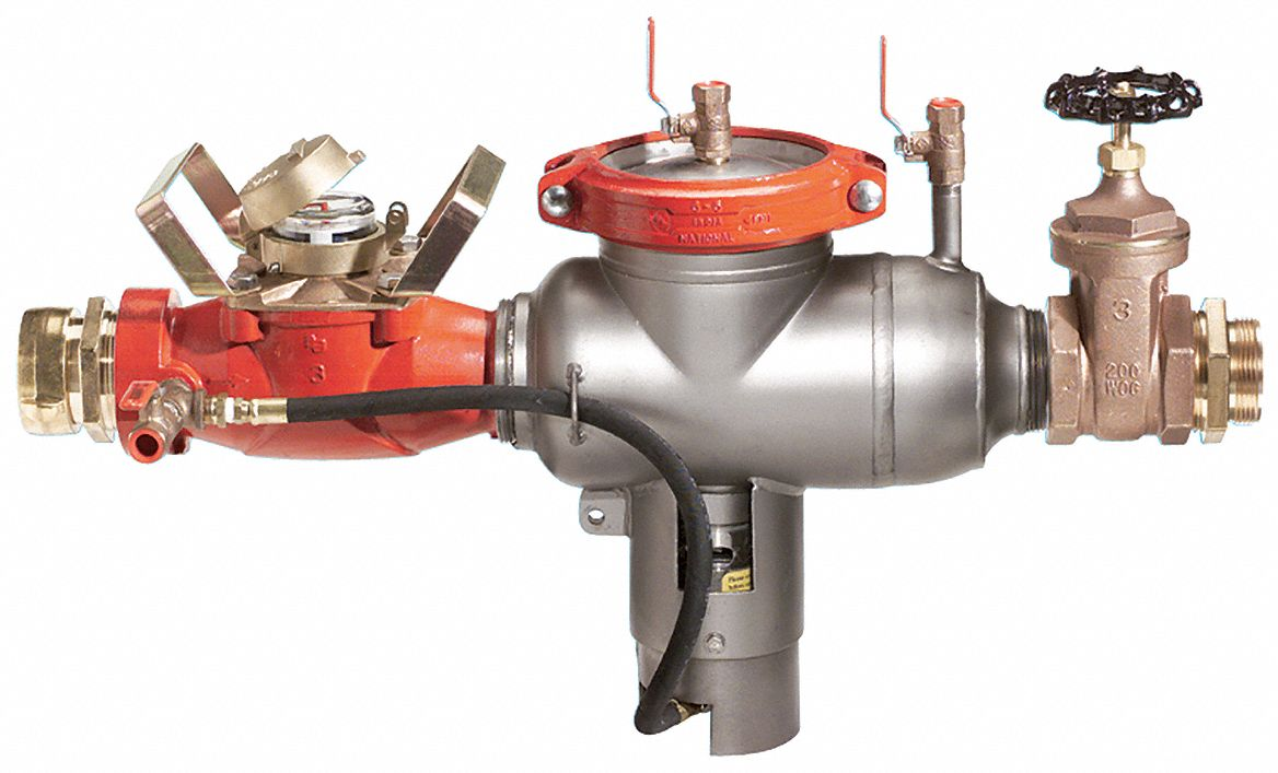 Watts Regulator Hydrant Meter With Backflow Preventer Stainless Steel Ames 6000hmb Series Nst Fire Hose Swivel Co 6auw6 6000hmb Hydrant Bfp Grainger