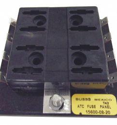 eaton bussmann 8 pole automotive fuse block ac not rated dc 32vdc 0 to 30a series atc 6cjf0 15600 08 20 grainger [ 1121 x 973 Pixel ]
