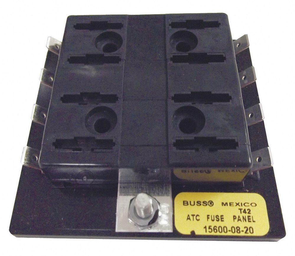 medium resolution of eaton bussmann 8 pole automotive fuse block ac not rated dc 32vdc 0 to 30a series atc 6cjf0 15600 08 20 grainger