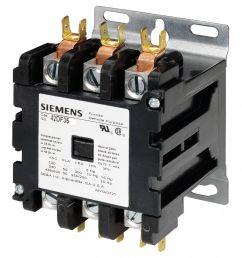 siemens 120vac contactor no of poles 3 50 full load amps inductive 6drj7 42df35af grainger [ 1121 x 1246 Pixel ]