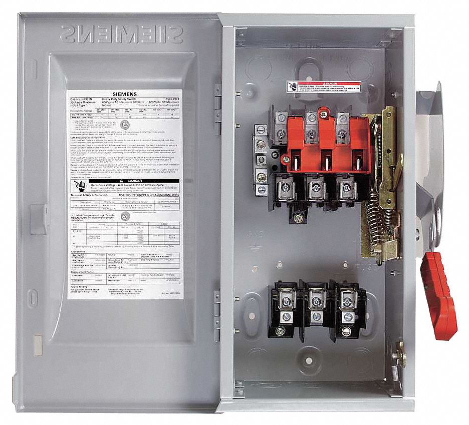 Ge Side By Side Wiring Diagram Siemens Safety Switch 1 Nema Enclosure Type 30 Amps Ac