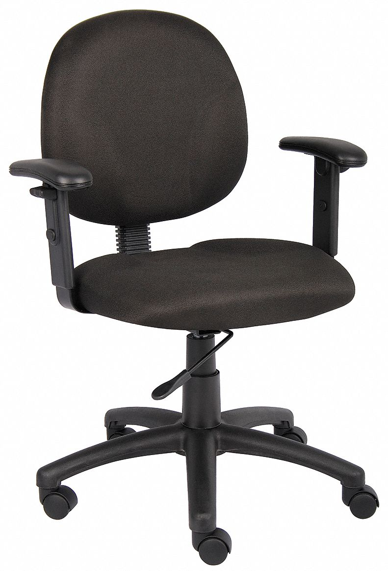 ergonomic chair grainger genuine leather dining room chairs approved task black 6gnn0 using 360 viewing