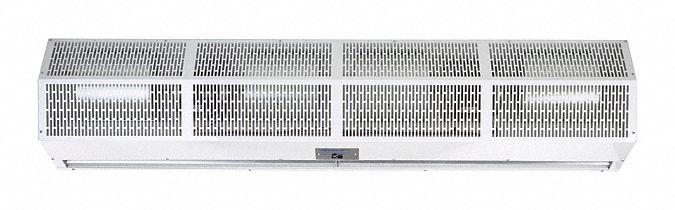 air curtain 4 ft max door width 10 ft max mount ht 67 dba 10 feet 3500 fpm