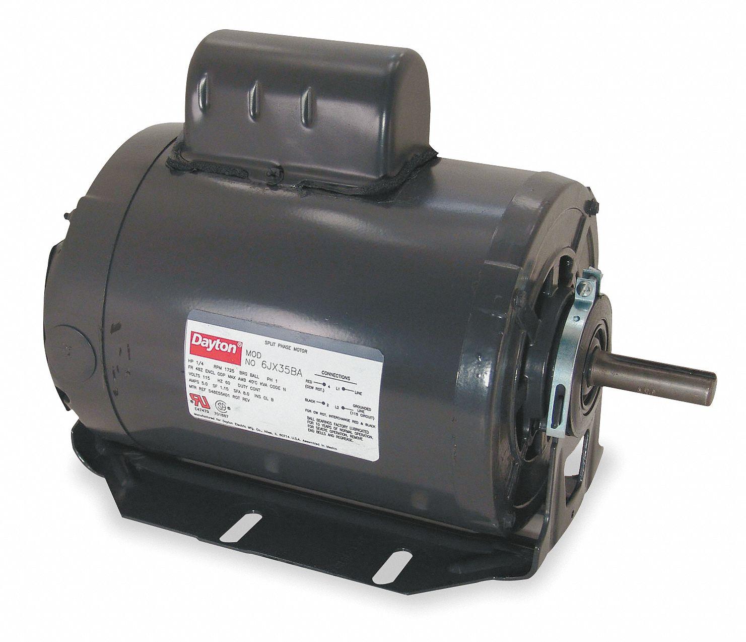 hight resolution of dayton 3 4 hp general purpose motor capacitor start 3450 nameplate rpm voltage 115 230 frame 56 6k346 6k346 grainger