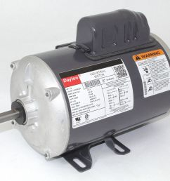 dayton 1 2 hp general purpose motor capacitor start 3450 nameplate rpm voltage 115 208 230 frame 48 6k482 6k482 grainger [ 1125 x 992 Pixel ]