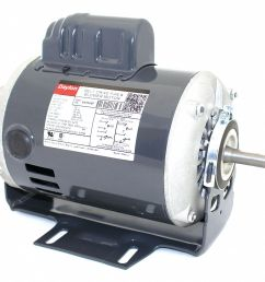 dayton 1 2 hp belt drive motor capacitor start 1725 nameplate rpm 115 230 voltage frame 48z 6k965 6k965 grainger [ 1125 x 1015 Pixel ]