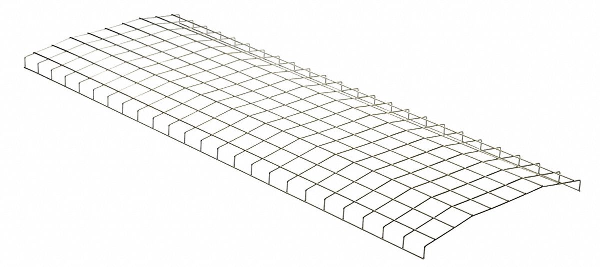 LITHONIA LIGHTING Wire Guard, Steel, White, For Use With 8