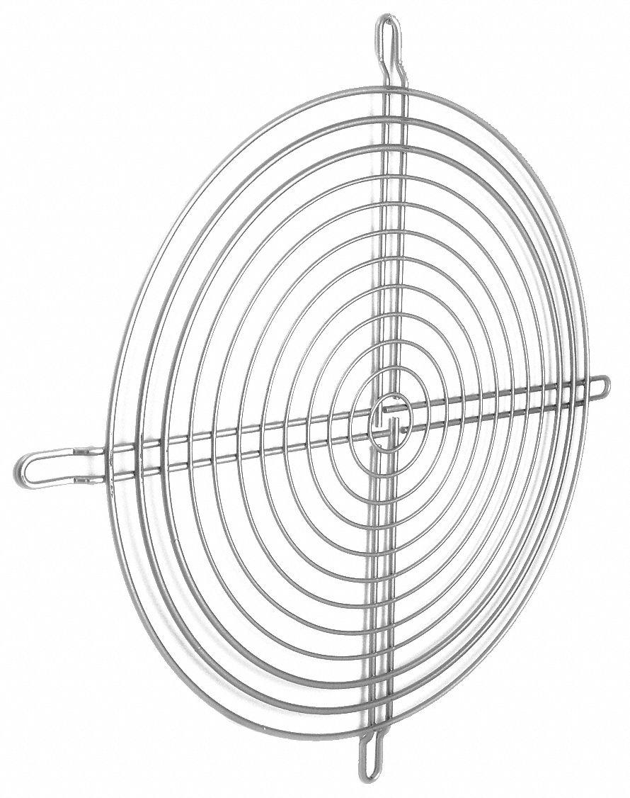 EBM-PAPST Compact Axial Fan Guard, For Fan Size 7-7/8
