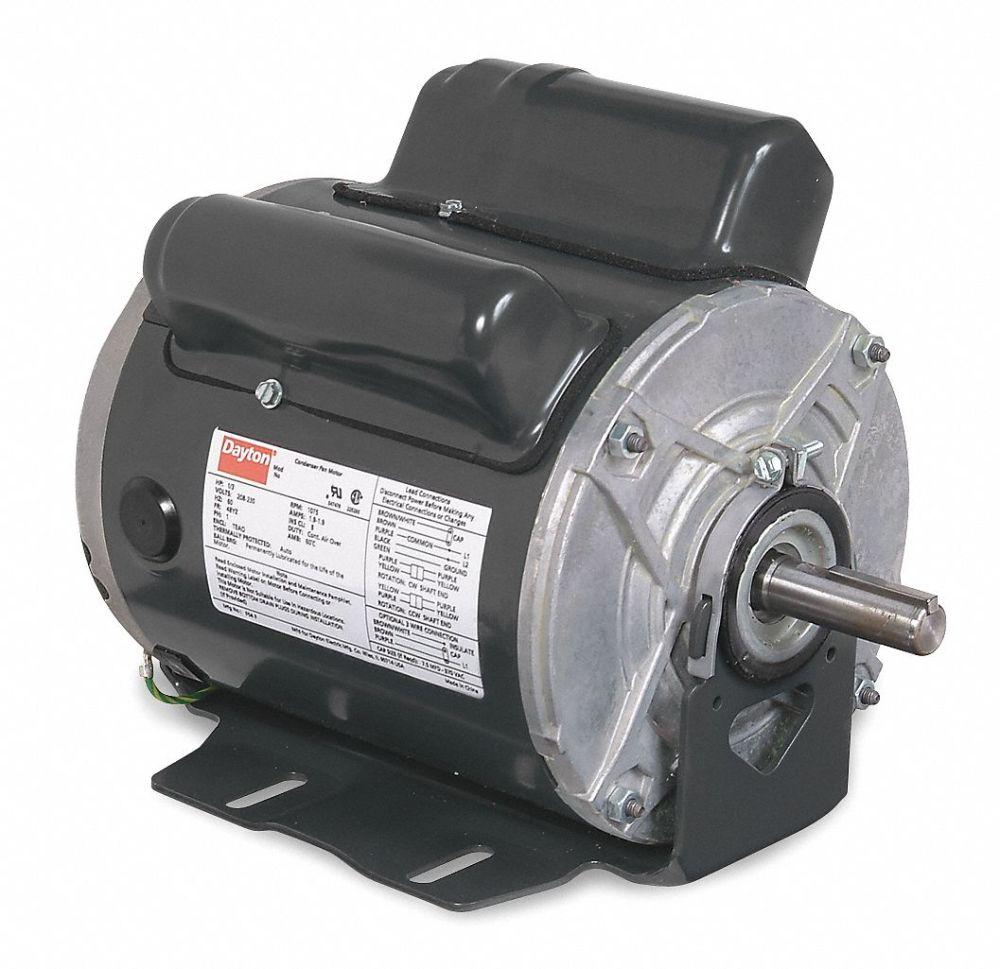 medium resolution of dayton 1 hp agricultural fan motor capacitor start run 1725 nameplate rpm 115 208 230 voltage frame 56 4nxg3 4nxg3 grainger