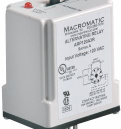 macromatic alternating relay 120vac 10a 240v 10a 28v octal base type 8 pins 3 0va dpdt cross wired 6mpn9 arp120a3r grainger [ 1143 x 1449 Pixel ]