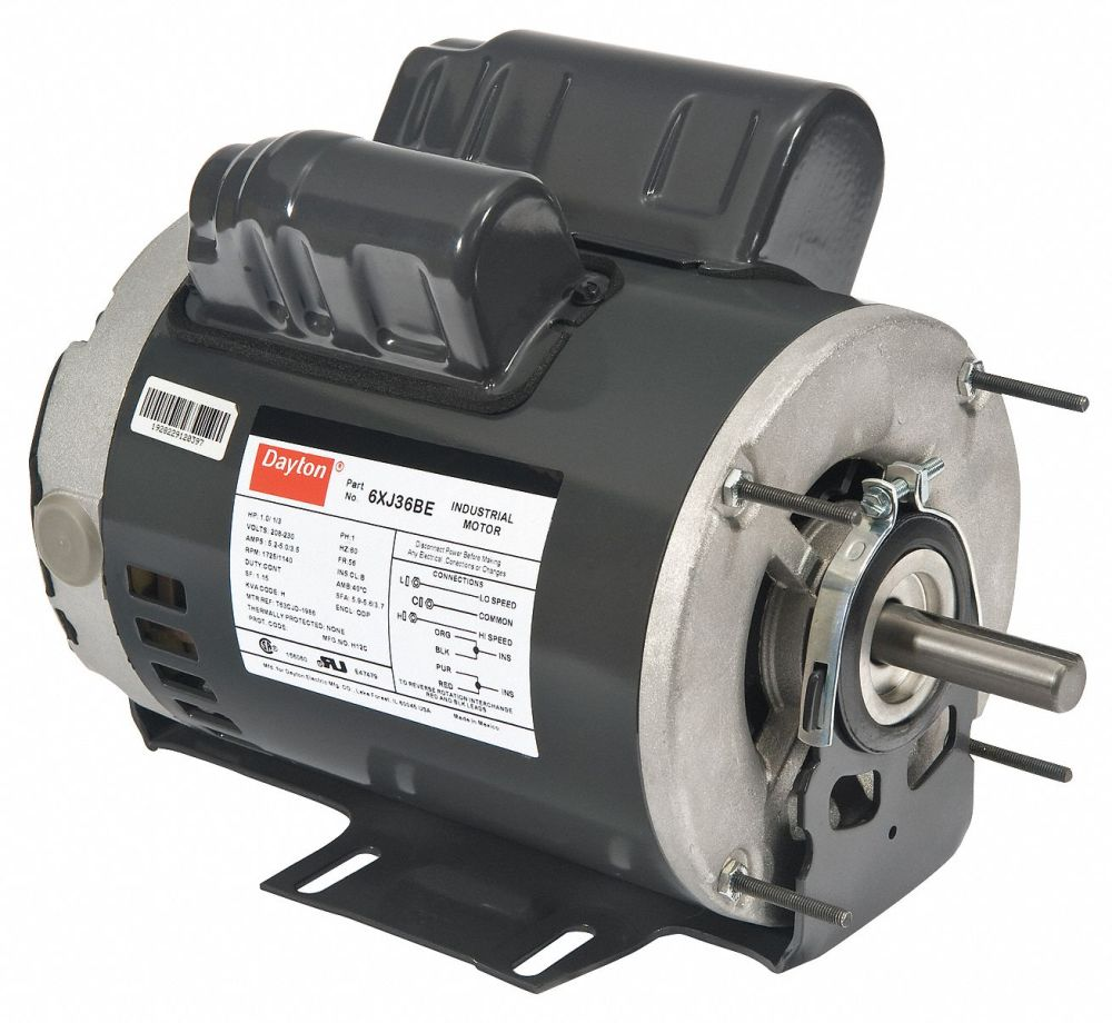 medium resolution of dayton 3 4 1 4 hp general purpose motor capacitor start run 1725 1140 nameplate rpm voltage 115 frame 56 6xj26 6xj26 grainger