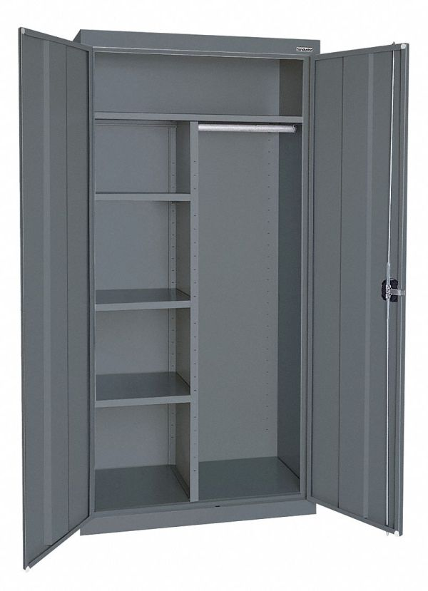 Sandusky Commercial Storage Cabinet Gray 72