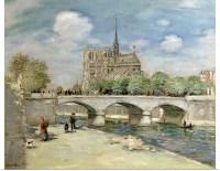 Poster Print Wall Art entitled Notre Dame de Paris, c.1900 ...