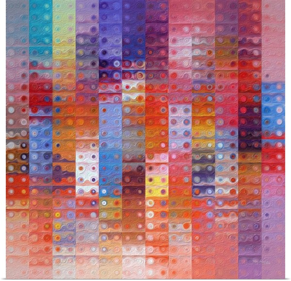 Abstract Art Paintings Squares