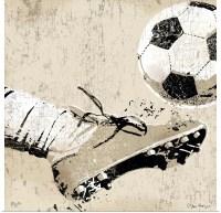 Poster Print Wall Art entitled Vintage Soccer Strike | eBay