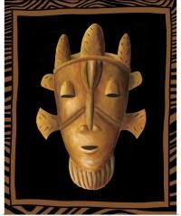 Poster Print Wall Art entitled African Mask II | eBay