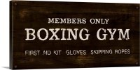 Vintage Boxing Gym Wall Art, Canvas Prints, Framed Prints ...