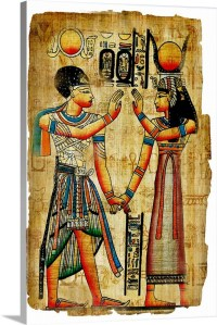 Ancient Egyptian Artwork Wall Art, Canvas Prints, Framed ...