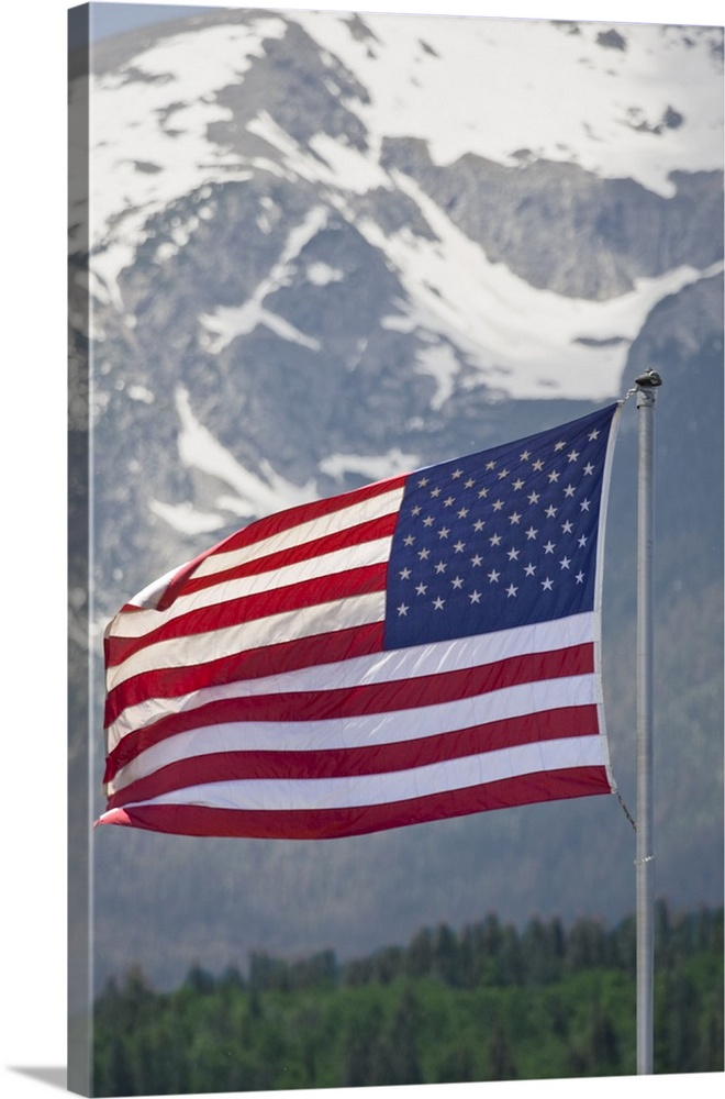 colorado silverthorne american flag