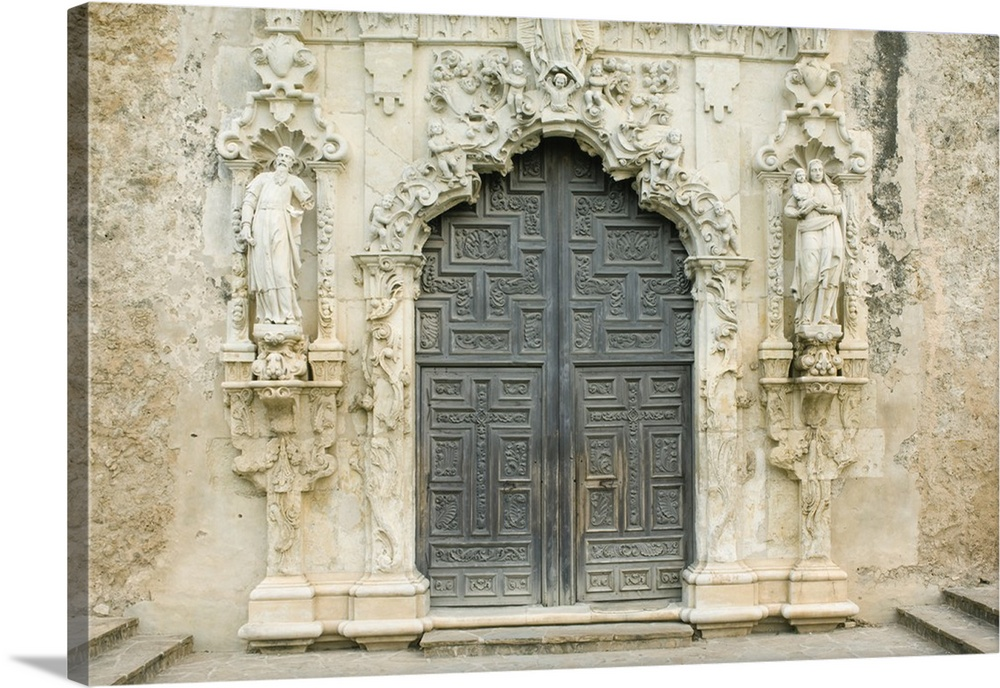 Texas San Antonio Mission San Jose Y San Miguel De
