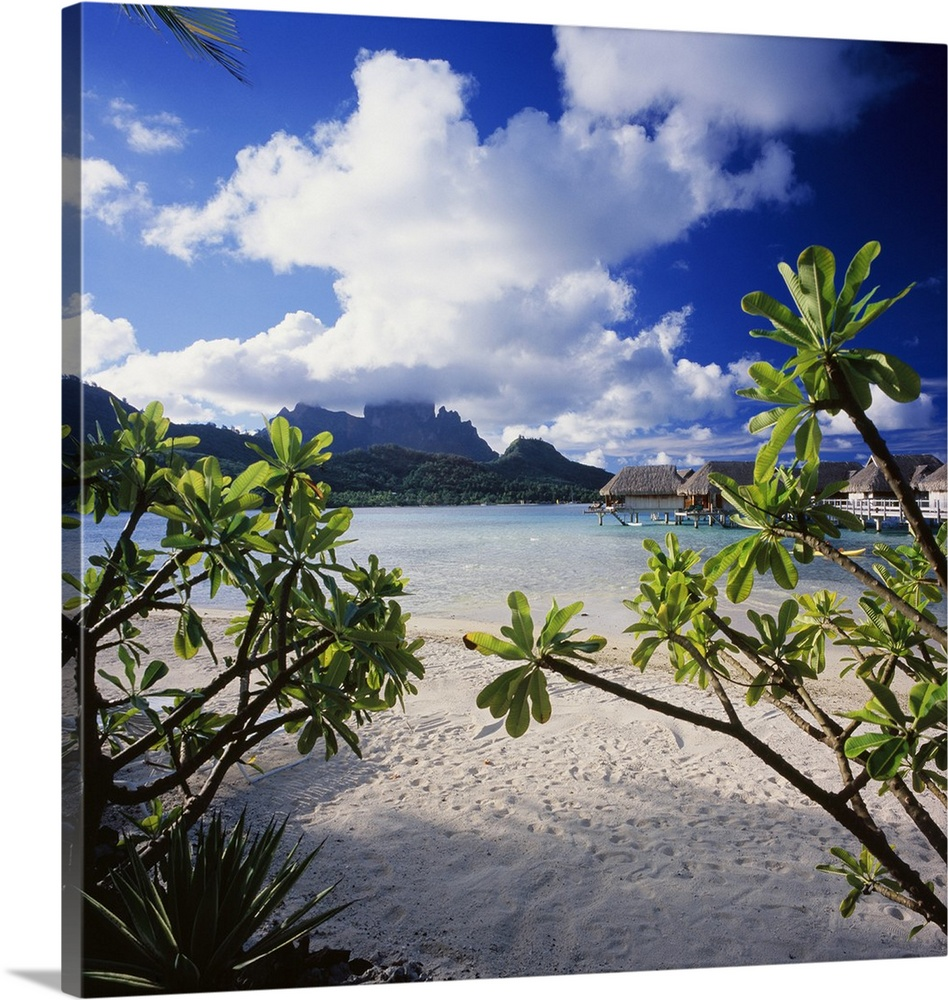 French Polynesia Bora Bora Sofitel Motu Hotel And Mt