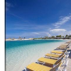 Beach Lawn Chairs Metal Chair Leg Extensions Tropical Water Wall Art Canvas Prints Framed