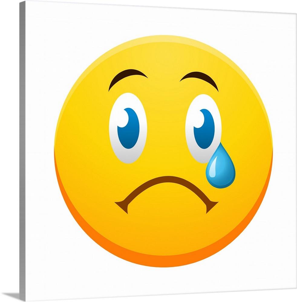 emoji sad face