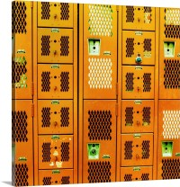 Lockers in a gym facility Wall Art, Canvas Prints, Framed ...