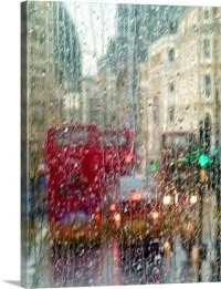 London street in rain Wall Art, Canvas Prints, Framed ...