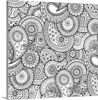 Paisley Swirl II Photo Canvas Print | Great Big Canvas