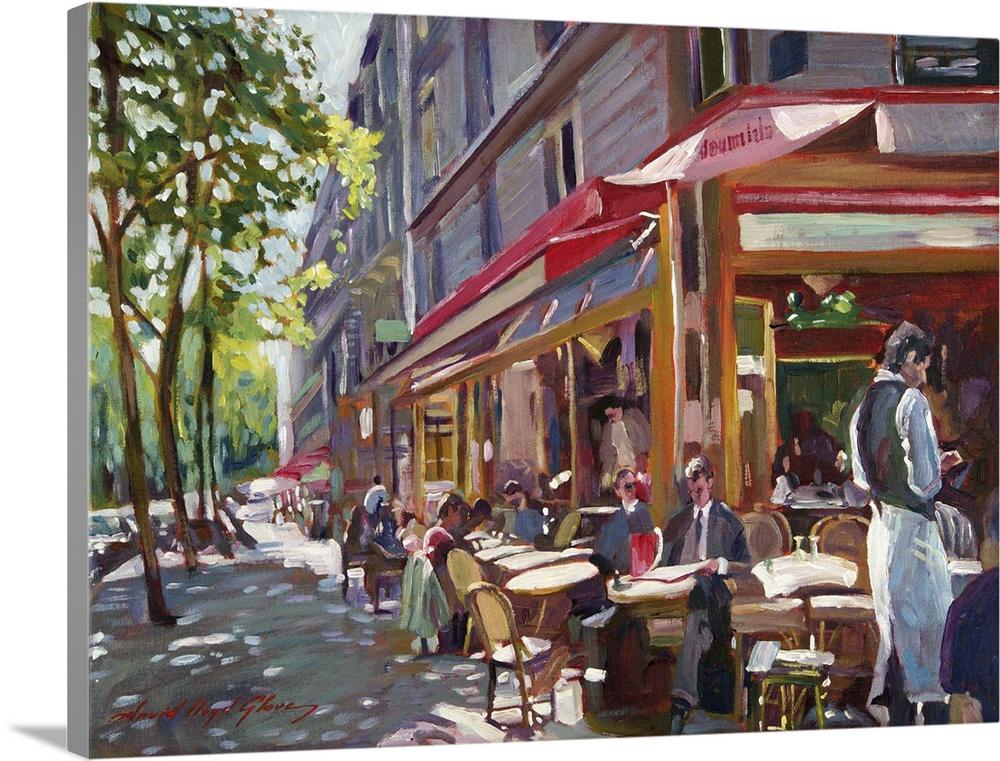 Paris Cafe Society Wall Art Canvas Prints Framed Prints