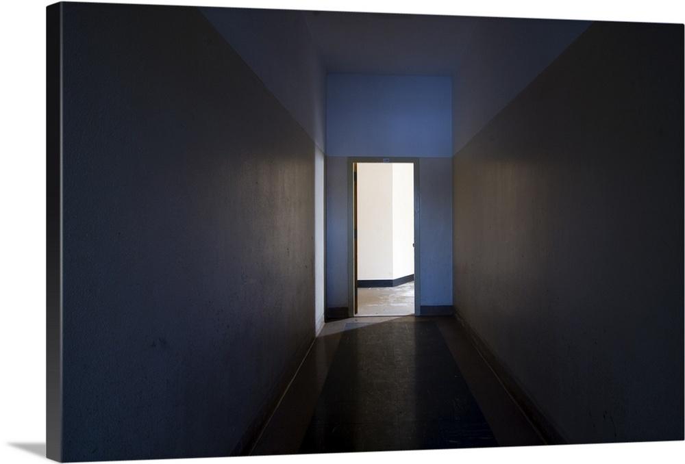 glowing doorway