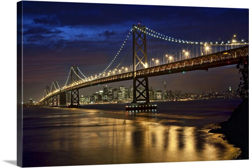 oakland bay bridge and