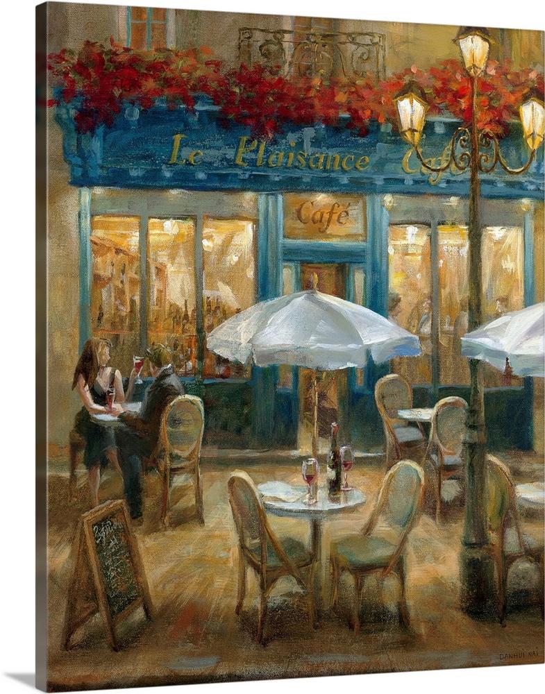 Paris Cafe I Wall Art Canvas Prints Framed Prints Wall