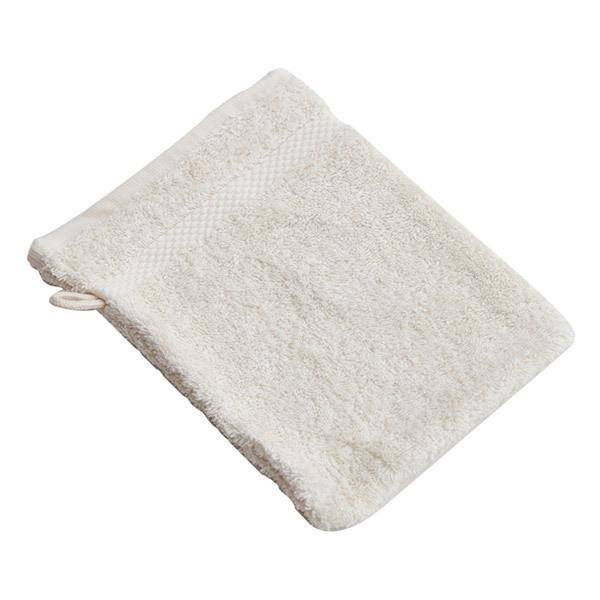 anae gant de toilette coton bio ecru loading zoom