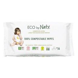 Eco by Naty - 56 lingettes douces éco - sans parfum