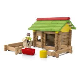 Un classique parmi les jouets en bois, la cabane
