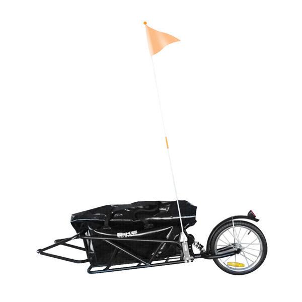 bike original remorque de transport mono roue amortisseur loading zoom