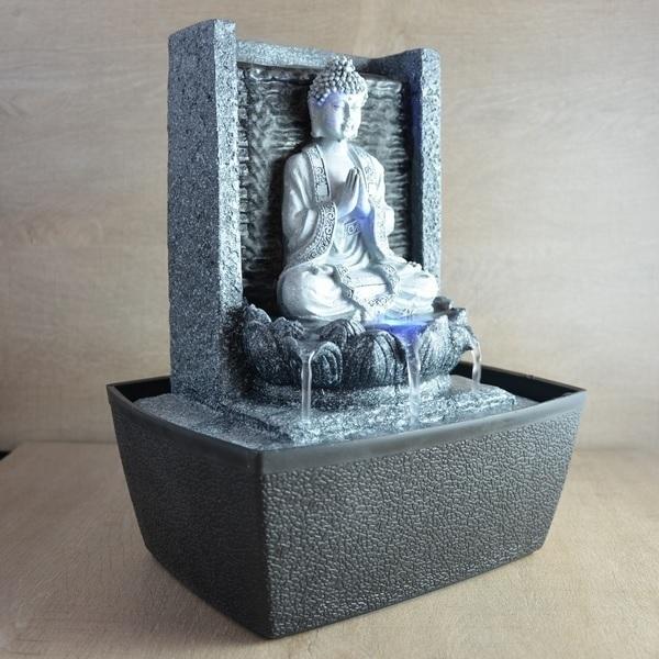 Fontaine Zen Feng Shui Nirvana Zen Light Acheter Sur