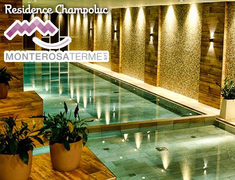 Offerta viaggio Champoluc x2  Monterosa Terme  Groupalia
