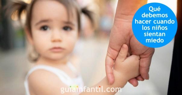 Cómo hacer frente a los miedos de los niños