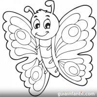 Imagenes De Mariposas Animadas Para Colorear Dibujos De