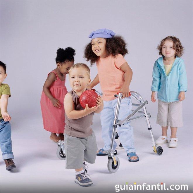 Avances en la estimulacin de nios con discapacidad