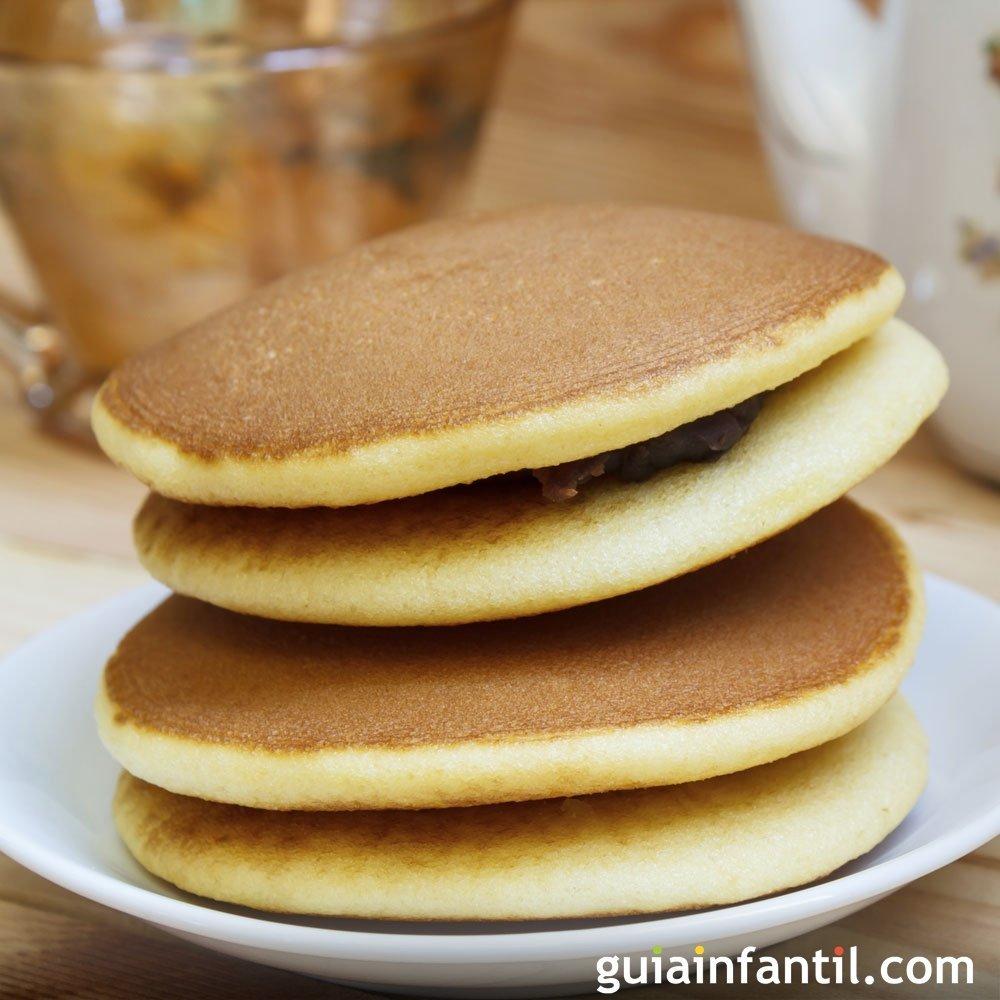 Dorayakis para el desayuno de los nios