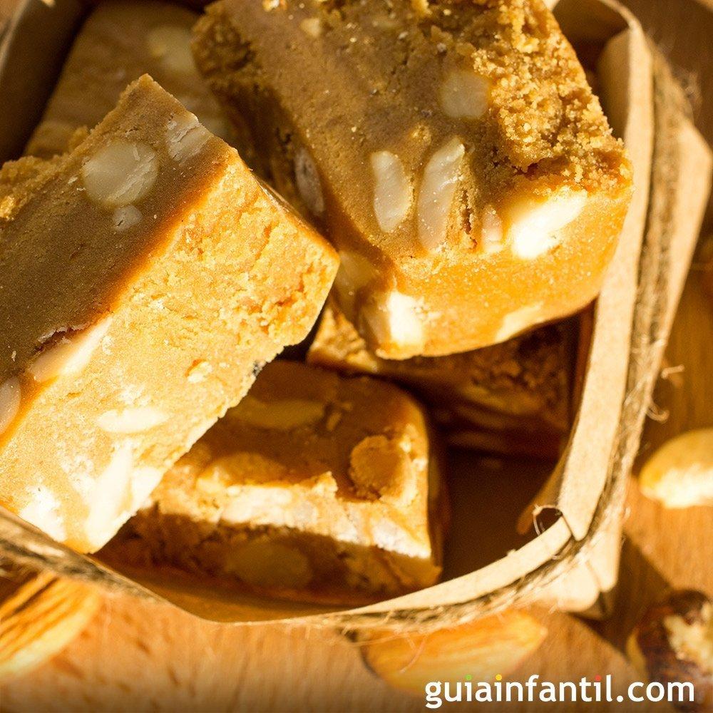 Turrn de almendras y miel de romero