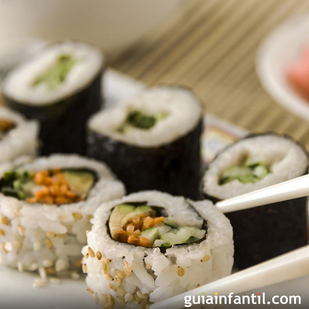 Sushi de salmn receta fcil para hacer en casa
