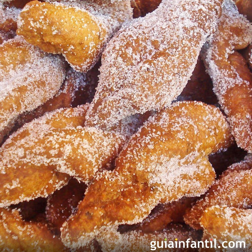 Pestios andaluces Receta de Semana Santa Carnaval o Navidad