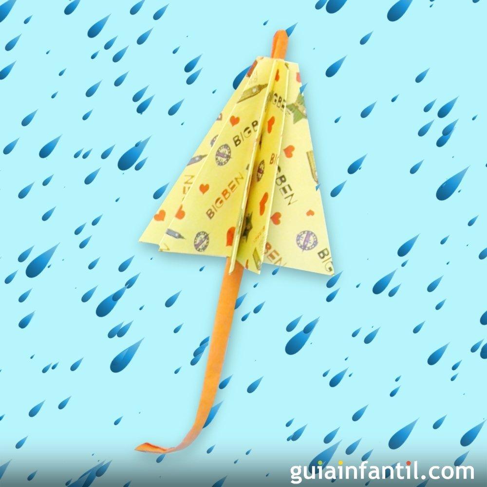 Cmo hacer un paraguas de papel
